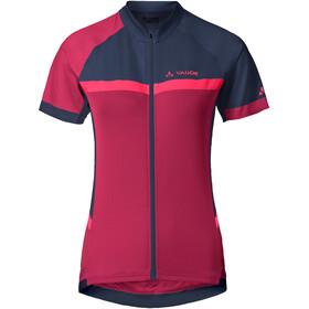 VAUDE Pro II Pyöräilypaita Naiset, crimson red